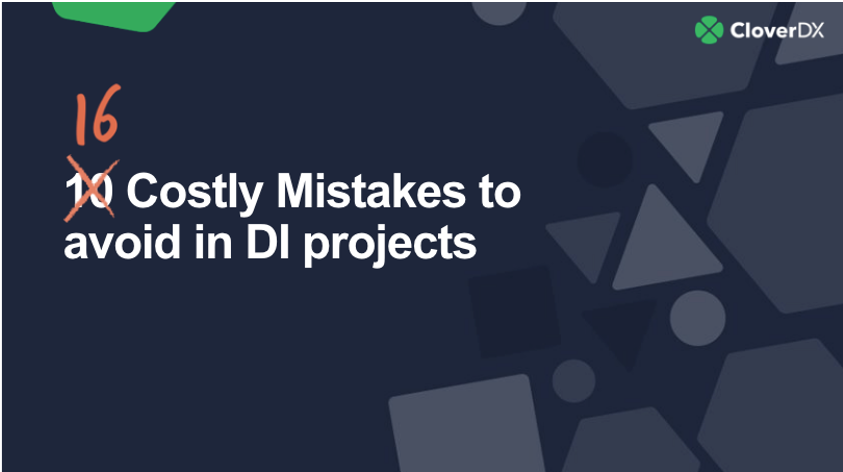 10 costly data integration mistakes