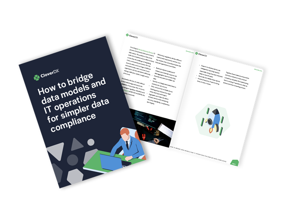 How to bridge the gap between data models and IT operations ebook cover