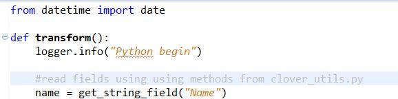 Embedding Python Scripts into CloverDX Data Pipeline: Python scripts integration with CloverDX