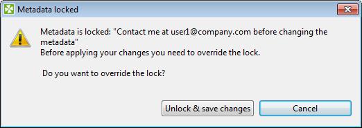 Element Locking: Safety for Team Work