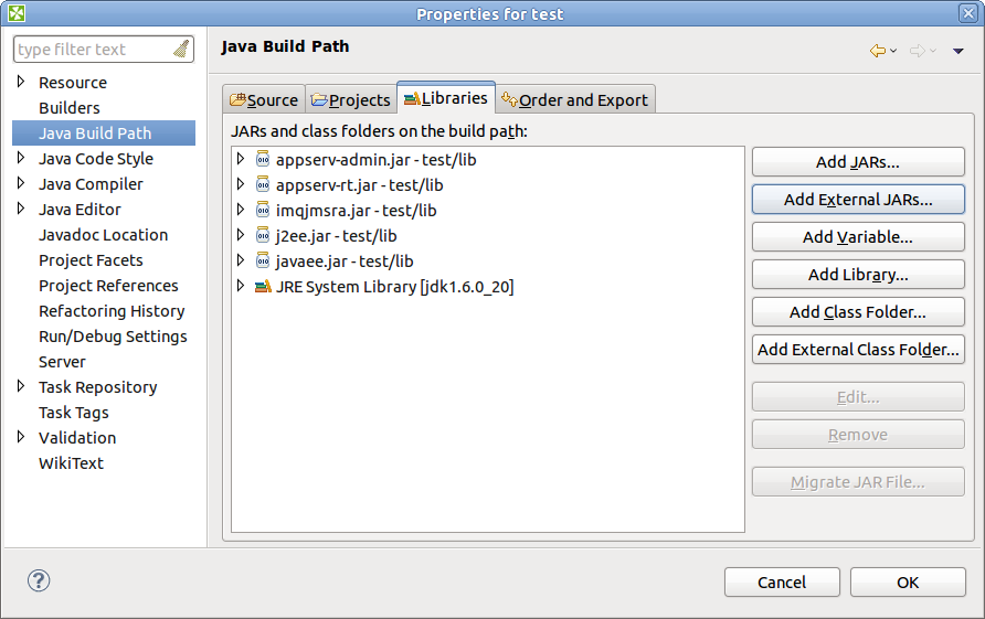 Connecting to JMS Queue on Glassfish v2 with CloverDX