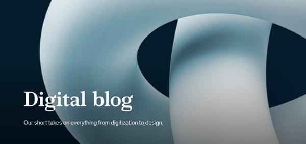 data-driven business transformation blogs - McKinsey digital