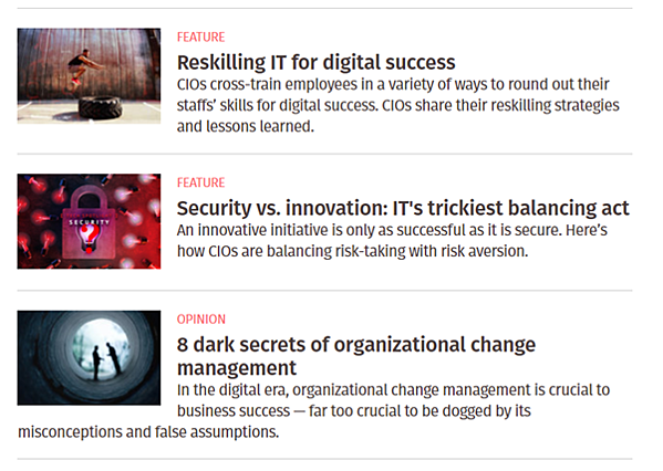 data driven business transformation blogs - CIO