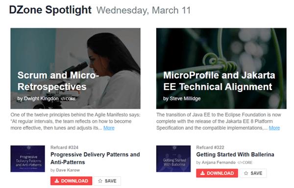 Data-driven business transformation blogs - DZone spotlight