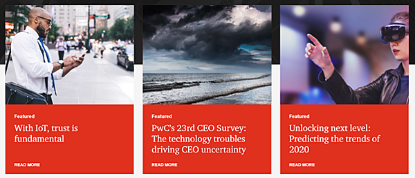 Data-driven business transformation blogs - Digital Pulse by PwC