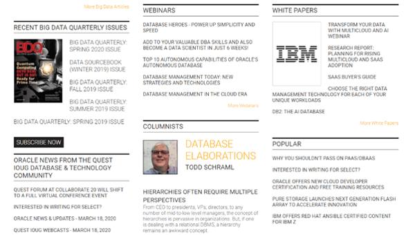 Data-driven business transformation blogs - DBTA