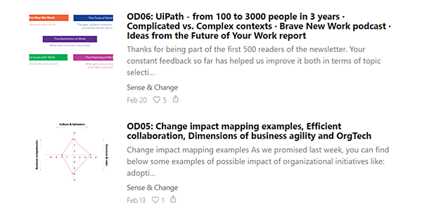 Data-driven business transformation blogs - OrgDev