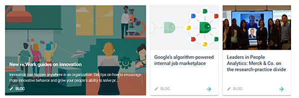 Data-driven business transformation blogs - re:Work with Google
