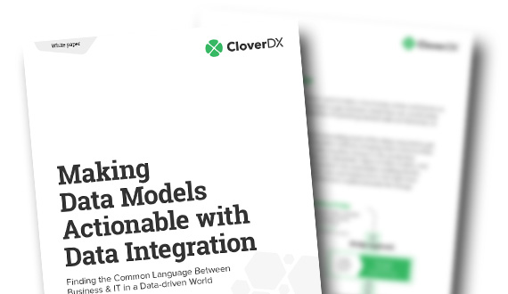 Making data models actionable with data integration