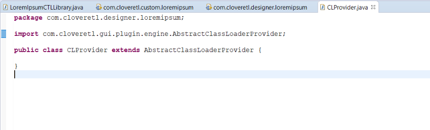 Extending CTL with Java Functions
